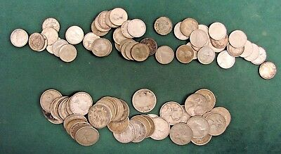 $15 Face 80% Canadian Coin Silver-QTR's and Dimes