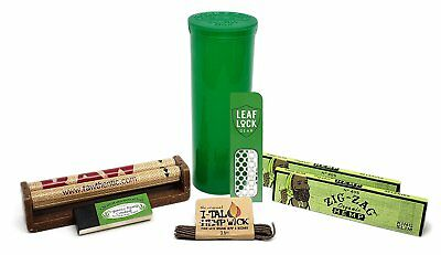Zig Zag Organic King Size Papers with Roller and MORE