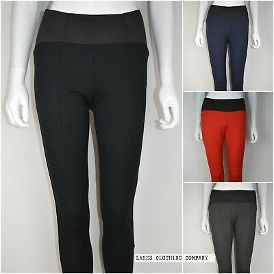 M&S Collection Leggings Jeggings Sculpt and Lift Full Length Black Grey Navy Red