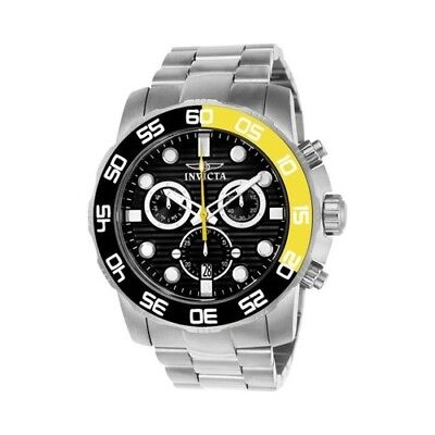 Invicta Men's   Pro Diver 21553 Watch Stainless Steel/Black Size OSFA