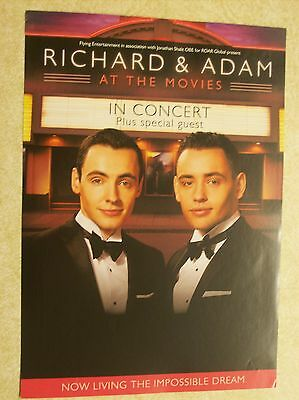 Richard & Adam 2015 UK Tour Handbill/Leaflet