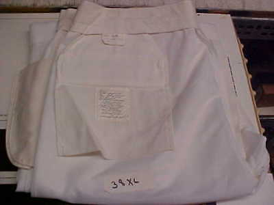 50% Navy Cracker Jack Sea Cadet Male Dress White Trousers Bell Bottoms 38XL w158