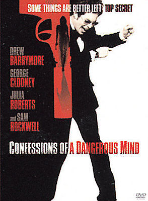 Confessions Of A Dangerous Mind Dvd New Sealed