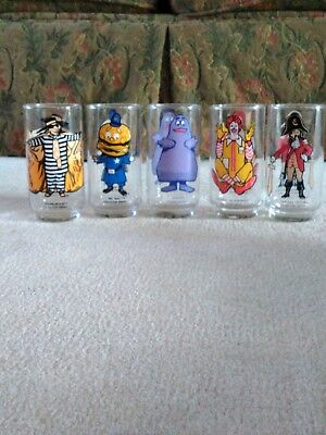 Vtg. 1977 Ronald MCDONALD'S COLLECTOR SERIES Glasses-5