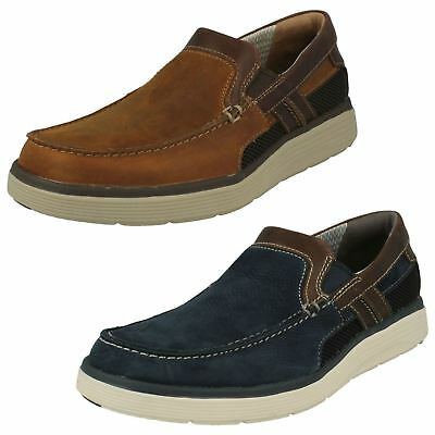 cdcd1f6eb03 MENS CLARKS CASUAL Slip On Shoes Un Abode Free -  101.28