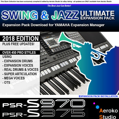 Yamaha psr s970 s770 expansion styles sounds fm for Yamaha expansion pack