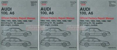 shop manual a6 service repair audi bentley book allroad quattro rh picclick com 2001 Audi A6 Quattro 2007 Audi A6 Quattro