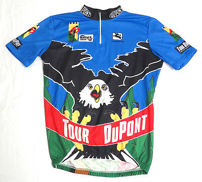 vtg Giordana 1994 TOUR DUPONT EAGLE Cycling Jersey LARGE race event 90s L 32b303383