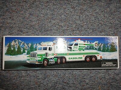 Hess Toy Truck And Helicopter 1995