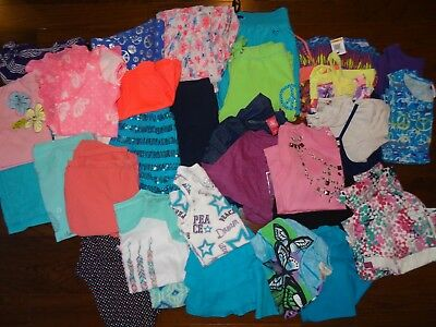 Girls Spring/Summer Clothes Lot Size 7, 7/8 and 8
