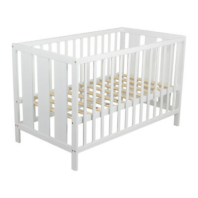 Childcare Tully Kip Baby White Wooden Cot