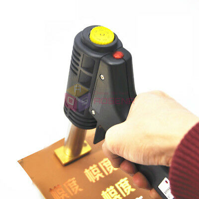 NEW Mini Handheld Leather Embossing Machine Hot Foil Stamping For LOGO Branding