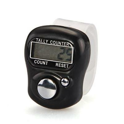 1pc Digital LCD Electronic Finger Hand Ring Knitting Row Tally Counter Hot  BT