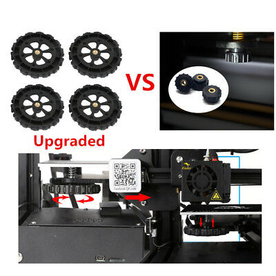 4pcs Upgraded Big Hand Twist Leveling Nut For Creality Ender 3 CR-10 3D Printer