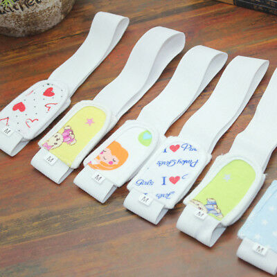 2Pcs Infant Baby Diaper Fastener Magic Tape Safety Nappy Fixing Belt Gift Ornate