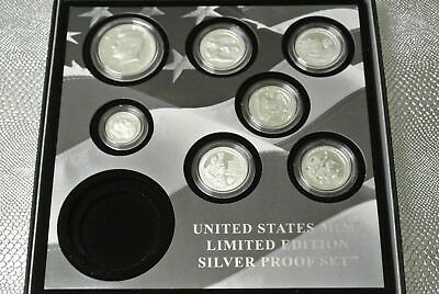 2017-S U.S. Mint Limited Edition Silver Proof Set Without Silver Eagle