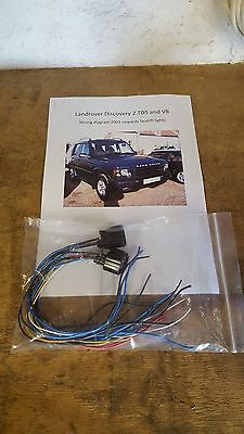 td5 discovery 2 facelift headlight conversion wiring kit plug rh picclick co uk