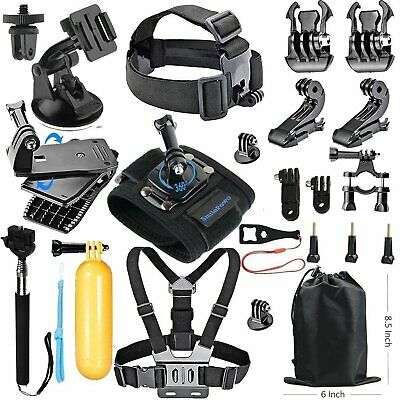 22in1 Accessories Hero 6 Black 5 4 3 HD Action For Gopro Camera Sport Kit Bundle