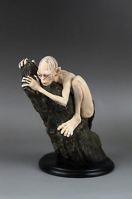 """The Lord of The Rings Lotr Statue GOLLUM 100% Handmade Craft Figure Resin 6""""H"""