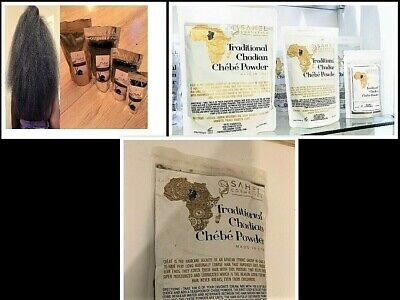 100% Original Chadian Chebe Hair Powder Direct From Miss_Sahel -  Uk Supplier