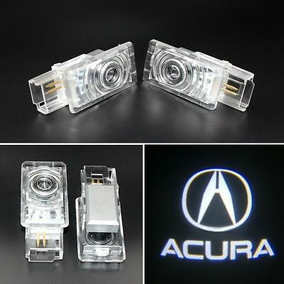 2Ghost Shadow LED Projector Lights Door Logo Laser for Acura TLX RLX MDX TL ZDX