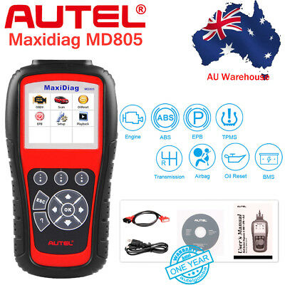 Autel MD805 ALL System +DS Model Diagnostic Code Reader ABS Engine TPMS as MD808