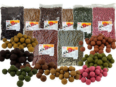 Top Secret 10kg (2,99€ pro kg) Feederboilie Futterboilie Carp Boilies Ø16mm
