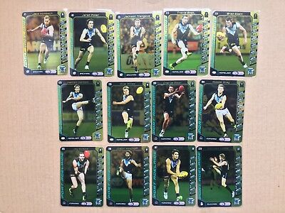 2016 AFL Teamcoach Gold Silver Team Set Port Adelaide