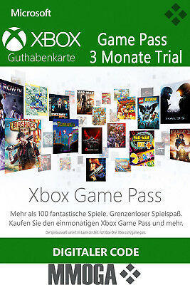Xbox Game Pass 3 Monate Mitgliedschaft Code - Xbox Live Download key - DE & EU