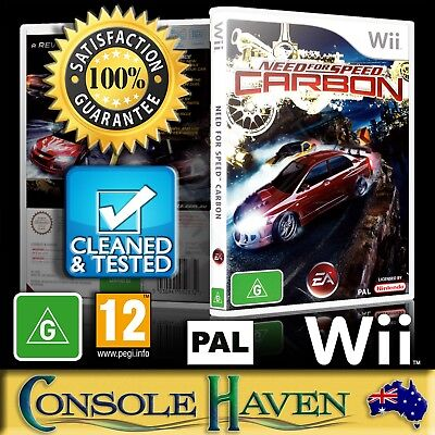(Wii Game) Need For Speed: Carbon / NFS (G) (Racing) PAL, Guaranteed, Cleaned