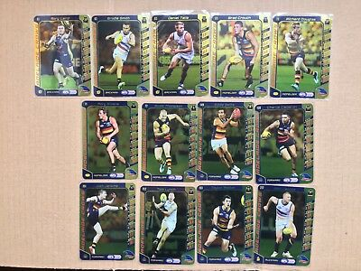2016 AFL Teamcoach Gold Silver Team Set Adelaide Crows