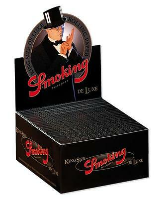 Smoking Deluxe King Dimensioni Ks Documenti Cartine per Sigarette Scatola Smk