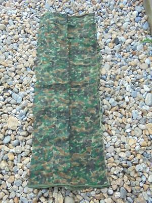 LARGE MILITARY ARMY Green Camouflage Net Scrim Scarf, Sniper Veil 90 x 250cm
