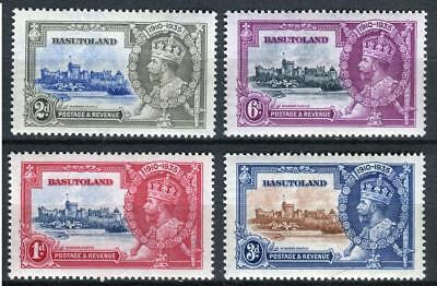 1935 Basutoland,Silver Jubilee Issue Sc # 11-14 MNH Complete Set