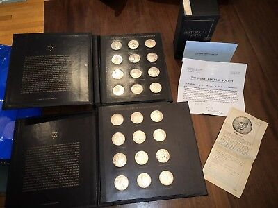 The Medallic History Of Jews In America 120 Medals Sterling Silver Proof F.m.