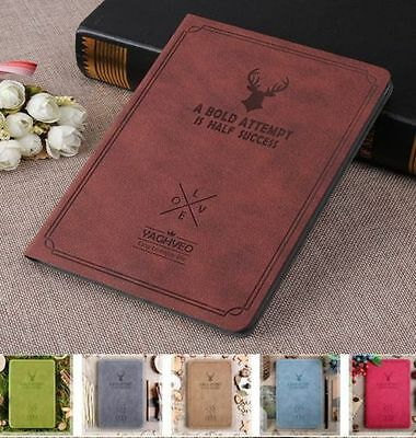 Retro Style PU  Leather Stand Book Case Cover For iPad 2 3 4/Air/mini/Pro 9.7