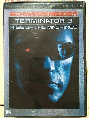 Arnold Schwarzenegger Terminator 3: Rise of the Machines ~2-Disc GB DVD