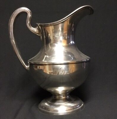 Reed And Barton Silverplate Water Pitcher