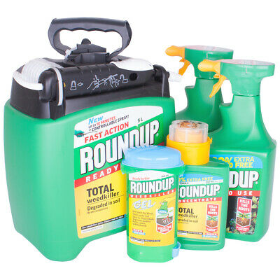 Round Up Concentrated Weed Killers And Lawn Treatments
