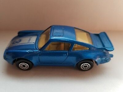 Mc Toy Porsche 911 Turbo 1 64 Scale Die Cast Car Vintage Toy Car