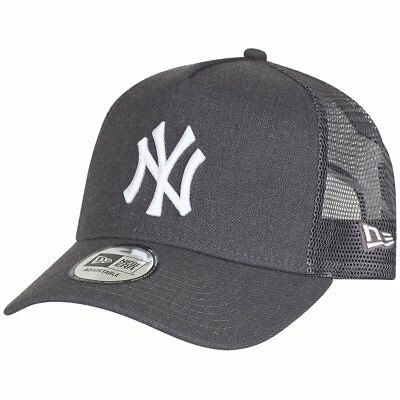 New Era Trucker Cap - HEATHER New York Yankees graphit