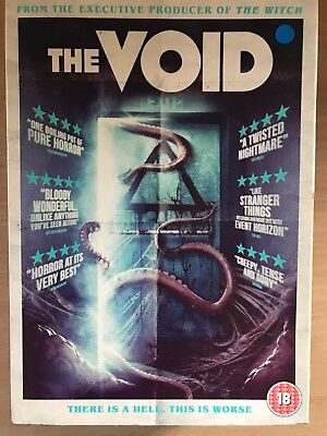 Aaron POOLE THE VOID ~2016 CULT Grindhouse HORROR FANTASCIENZA UK DVD con /