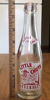 Little Chute Wisconsin Beverages ACL Soda Pop Bottle, 7oz. American Indian