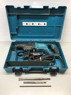 "MAKITA HR2621 1"" AVT SDS Plus Rotary Hammer Bundle w/case (GCE030298)"