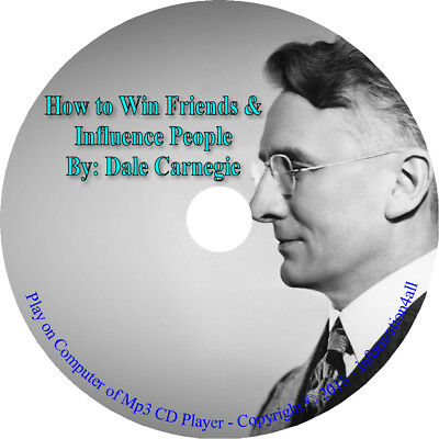 How to Win Friends and Influence People by Dale Carnegie Audio Mp3 Book CD A1