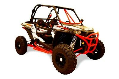 DRAGONFIRE RACING RacePace Nerf Bars for 2 Seat Polaris XP 1000 and RZR 900 RED