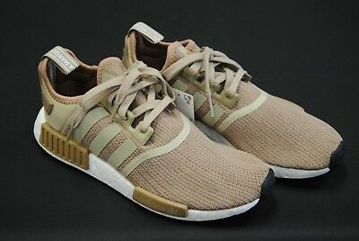 super popular 26c61 52d27 [B79760] NEW MEN'S Adidas Originals Nmd_R1 Gold Cardboard White Adm218