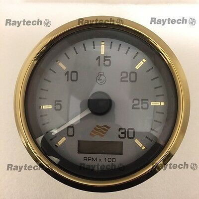 Faria TDH232A Diesel tachometer 3000 RPM Magnetic pick up