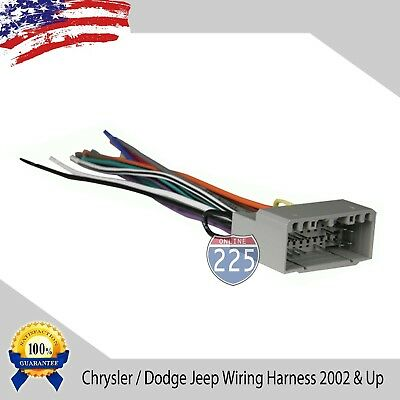 REVERSE RADIO WIRING Wire Harness OEM Factory Stereo ... on