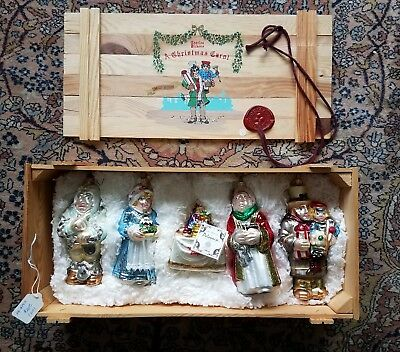 LTD EDITION Charles Dickens A Christmas Carol Polonaise Collection In Crate